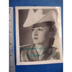 Maria Valero,orginal signed Photo - El Derecho de Nacer No.3
