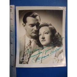 Maria Valero,orginal signed Photo - El Derecho de Nacer ,with Carlos BadíasNo.4