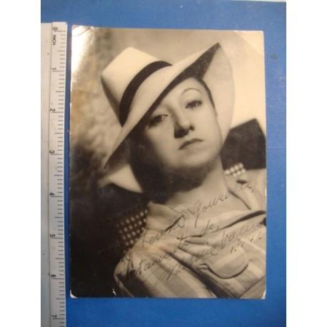 Maria Valero,orginal signed Photo - El Derecho de Nacer No.5