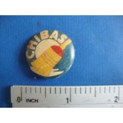 Eduardo Chibas,political button,pin