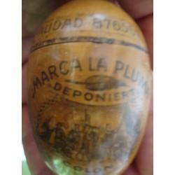 Mauchline Wooden Needle Case Santa Maria,nice