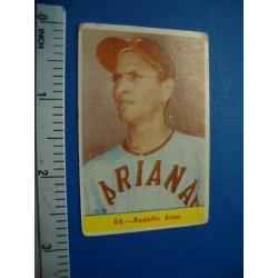 Rodolfo Arias, Cuban Chicle baseball card No.84