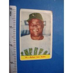 Rafael Sam Noble, Cuban Chicle  baseball card No. 35