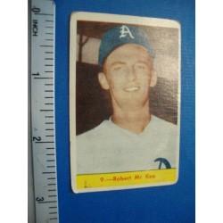 Robert Mc.Kee Chicle  baseball card,Cuba No.9