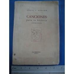 Canciones para tu historia (1936-1939),signed by Augier, Angel