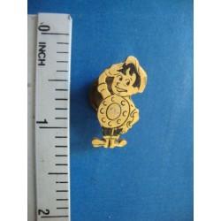 Tonito  Ring, Cuban Telephone Company Pin