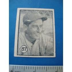 Regino Otero Felices Cuba Baseball Card No. 87