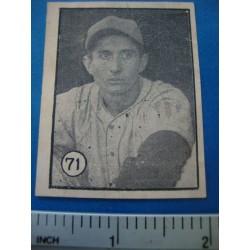 Jose Zardon Felices Cuba Baseball Card No. 71