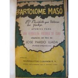 Bartolomé Masó : el presidente que vetaron los yanquis,comic