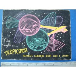 1960s Tropicana Night Club Souvenir Photo Folder,No.13178