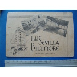 1940s Havana Hotel Sevilla Biltmore Souvenir Photo Folder