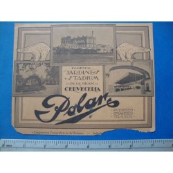 1940s Casablanca Night Club Souvenir Photo Folder,Typ3,with Polar advertisement baseball