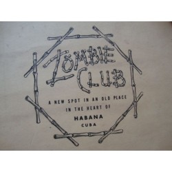 1940s  ZOMBIE  Club Souvenir Photo Folder,Havana Cuba